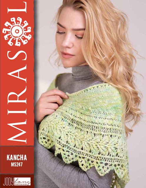 Mirasol Kancha Pattern #M5247 Linda Shawl