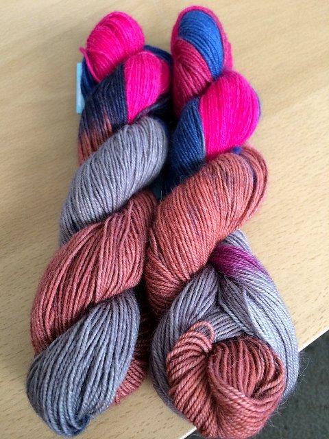 Queensland  Llama Lace Yarn - Colorway #11