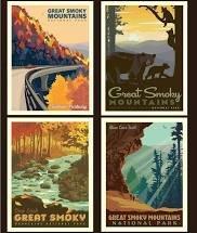 National Parks Pillow Panel