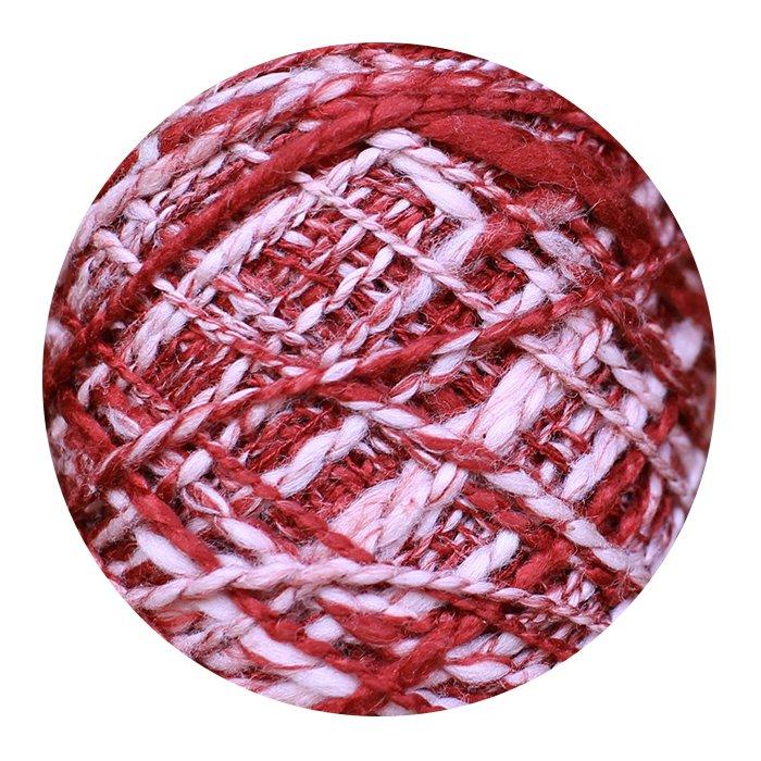 The Loom Fusilli-80 Yarn - Color #F-32 Radish