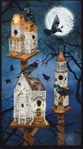 Raven Moon Ravens, House, Moons Panel AWHD-18483-282