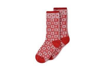 Side Kick Socks Red