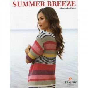 Jody Long Summer Breeze pattern book - Coastline Collection