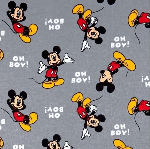 Disney Mickey Oh Boy Flannel