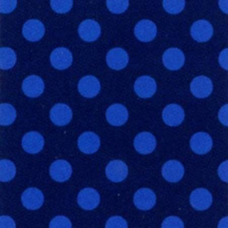 Navy/Royal Polka Dot Fleece