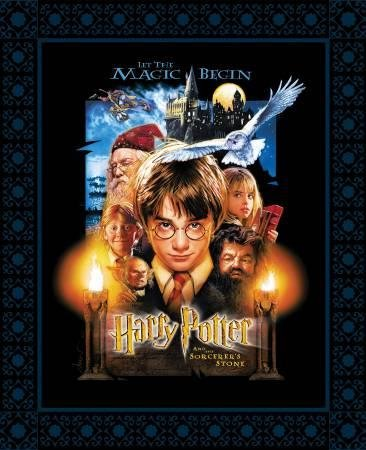 Multi Harry Potter Sorcerers Stone Poster Panel 36in x 44in Digitally Printed