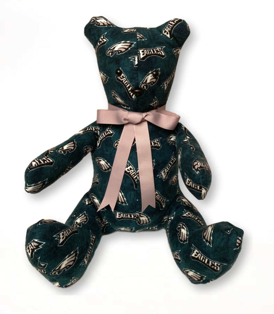 Eagles Keepsake Bear  (SAMPLE)