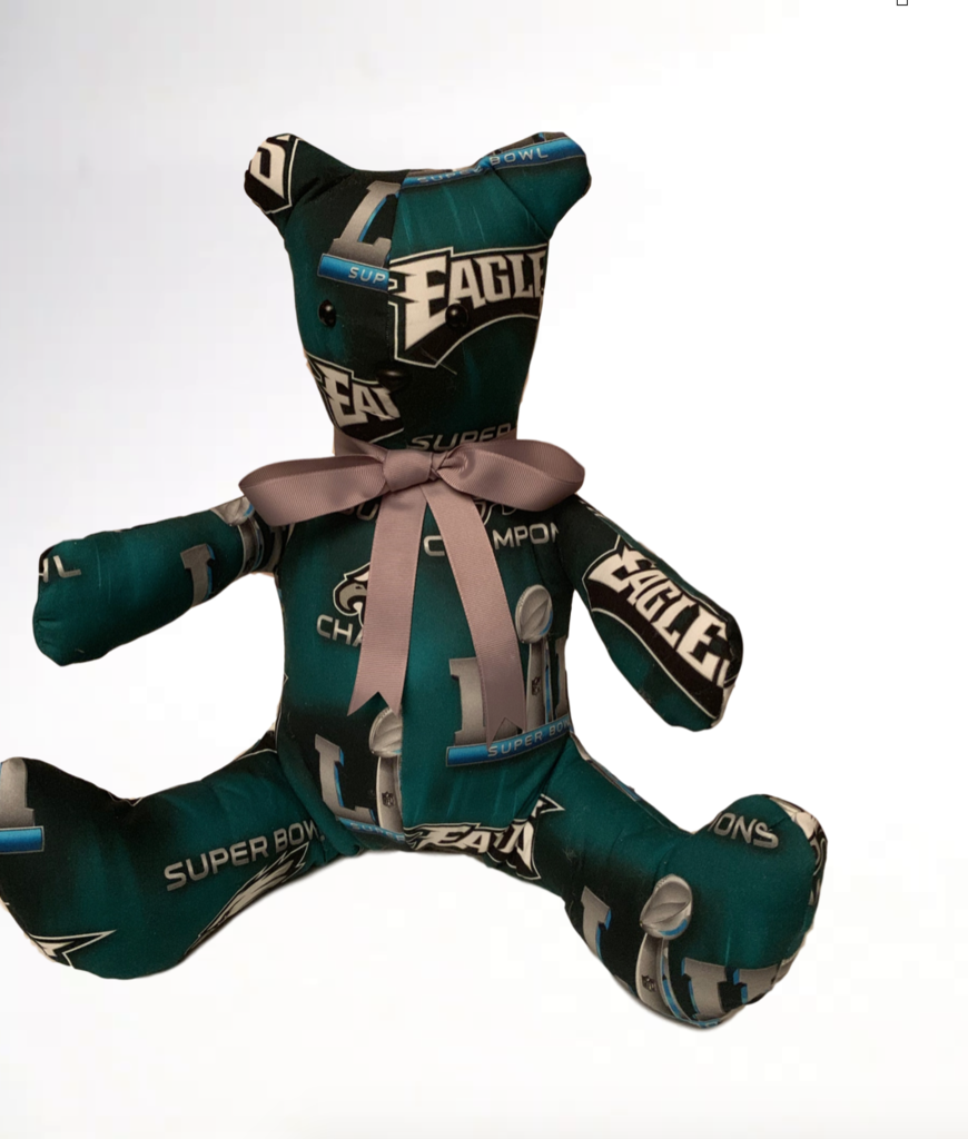 Eagles Super Bowl  LII Keepsake Bear