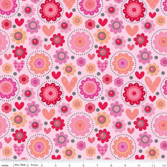 Ladybugs Collection Tossed Pink