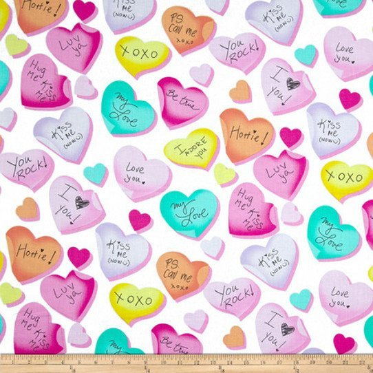 Love is all Around  Hearts candy