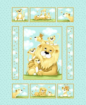 Susy Bee  Lyon Quilt Panel