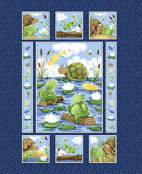 Susy Bee Paul & Sheldon Quilt Panel