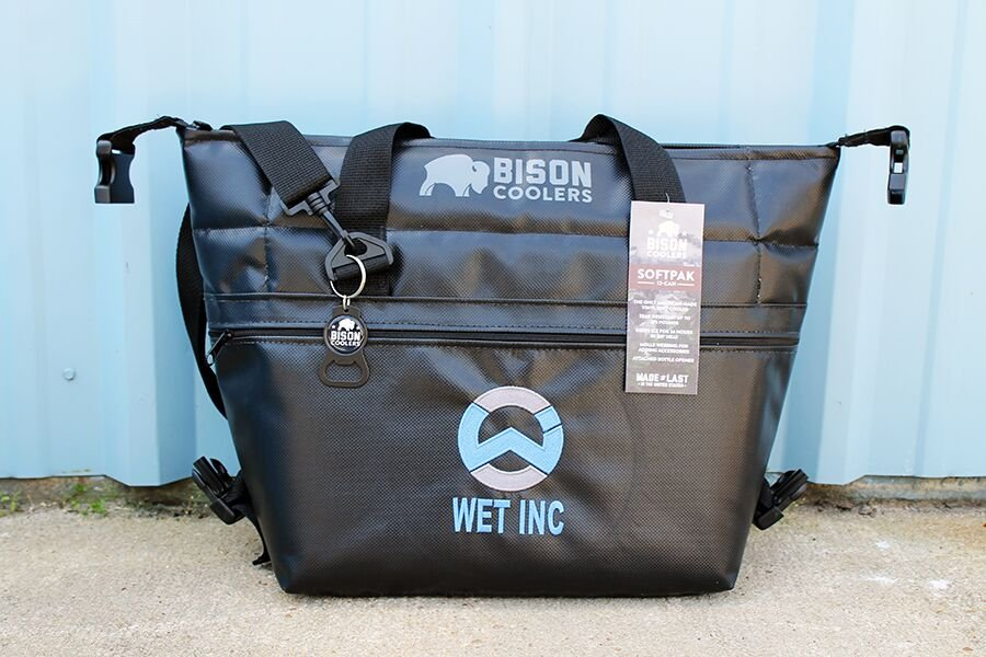 Wet. Inc 12 Can SoftPack Cooler Bag