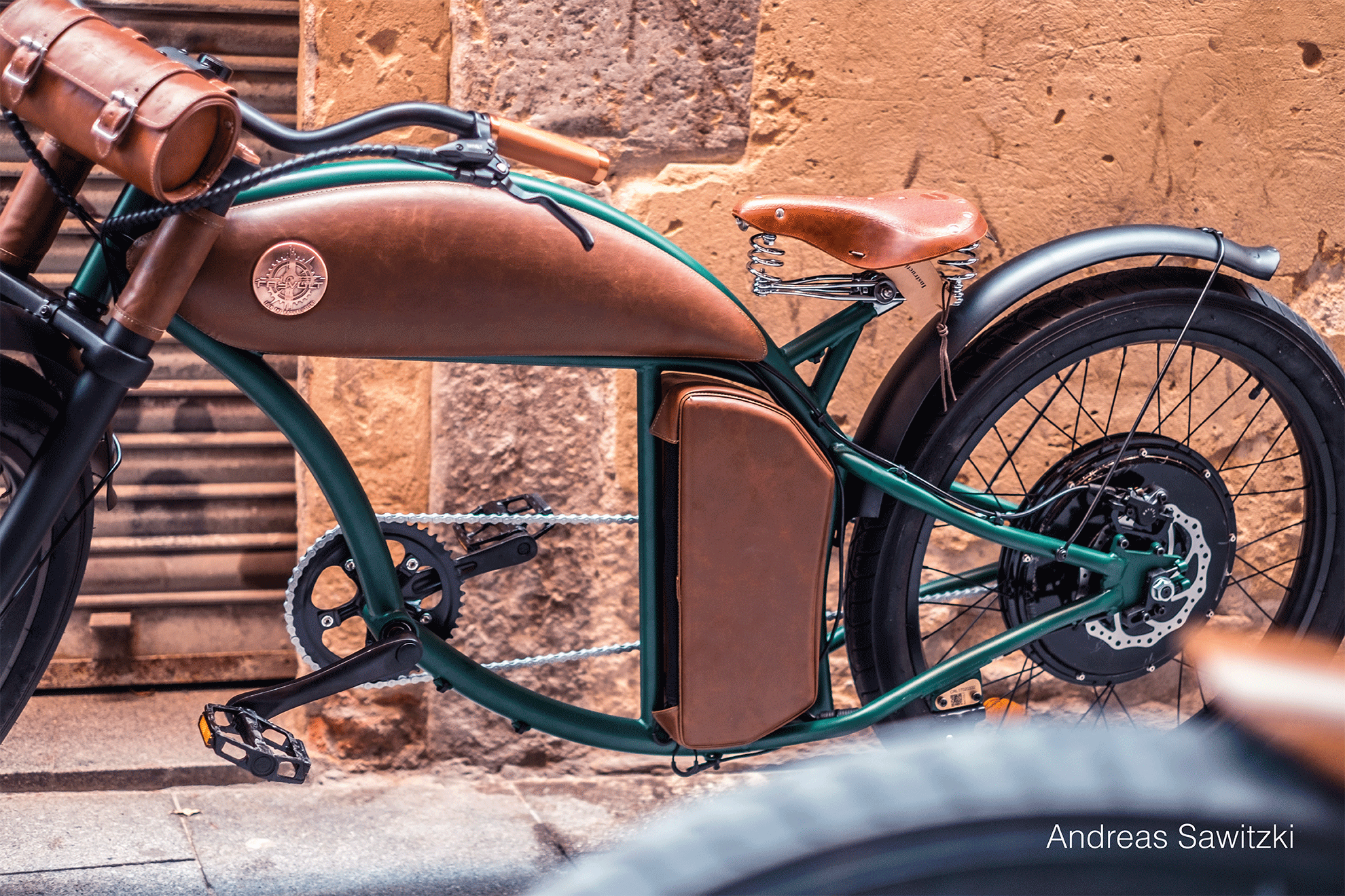 Rayvolt Beach Cruzer Electric Bike
