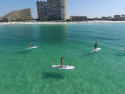 The Gulf of Mexico paddle boarding, Paddle board in Destin FL