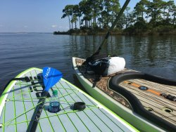Destin paddleboaring with wet.inc, rent paddleboard in destin, paddle boarding in the bay