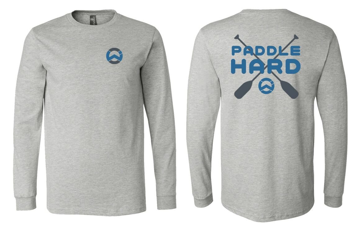 Wet. Inc Paddle Hard Jersey Long  Sleeve Tee
