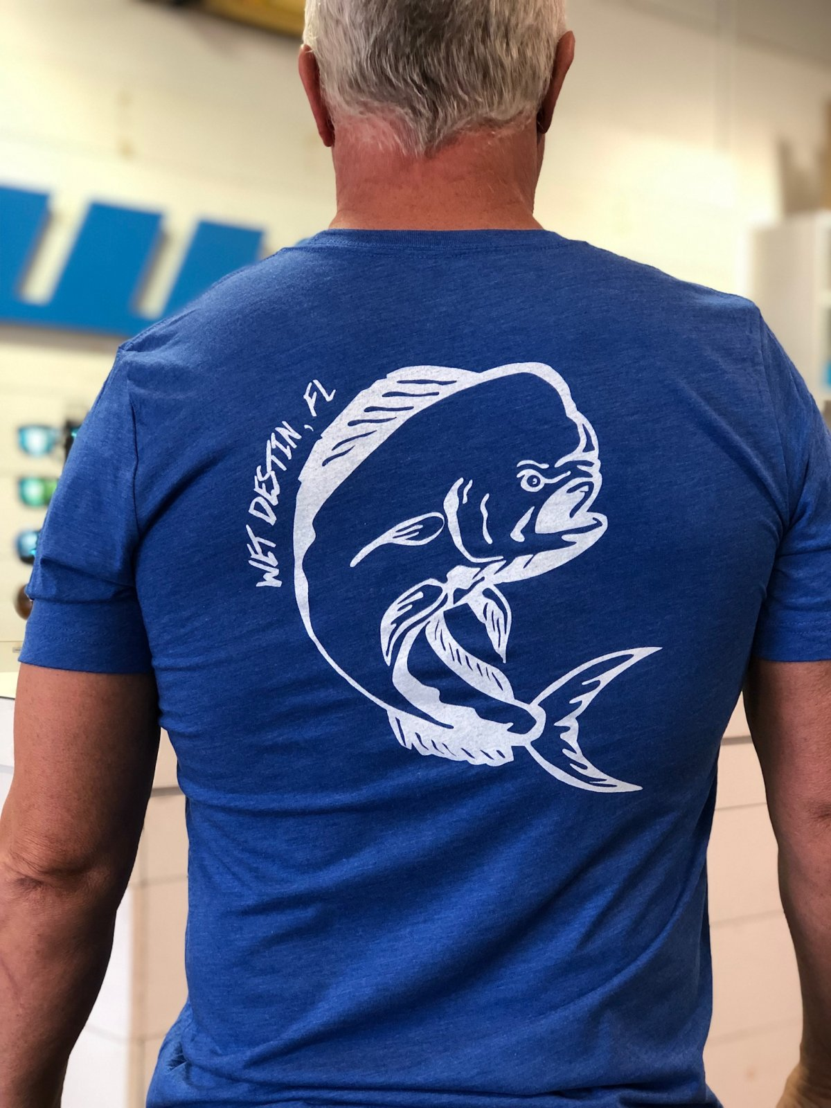 WET - Wet Destin FL Dolphin Tee