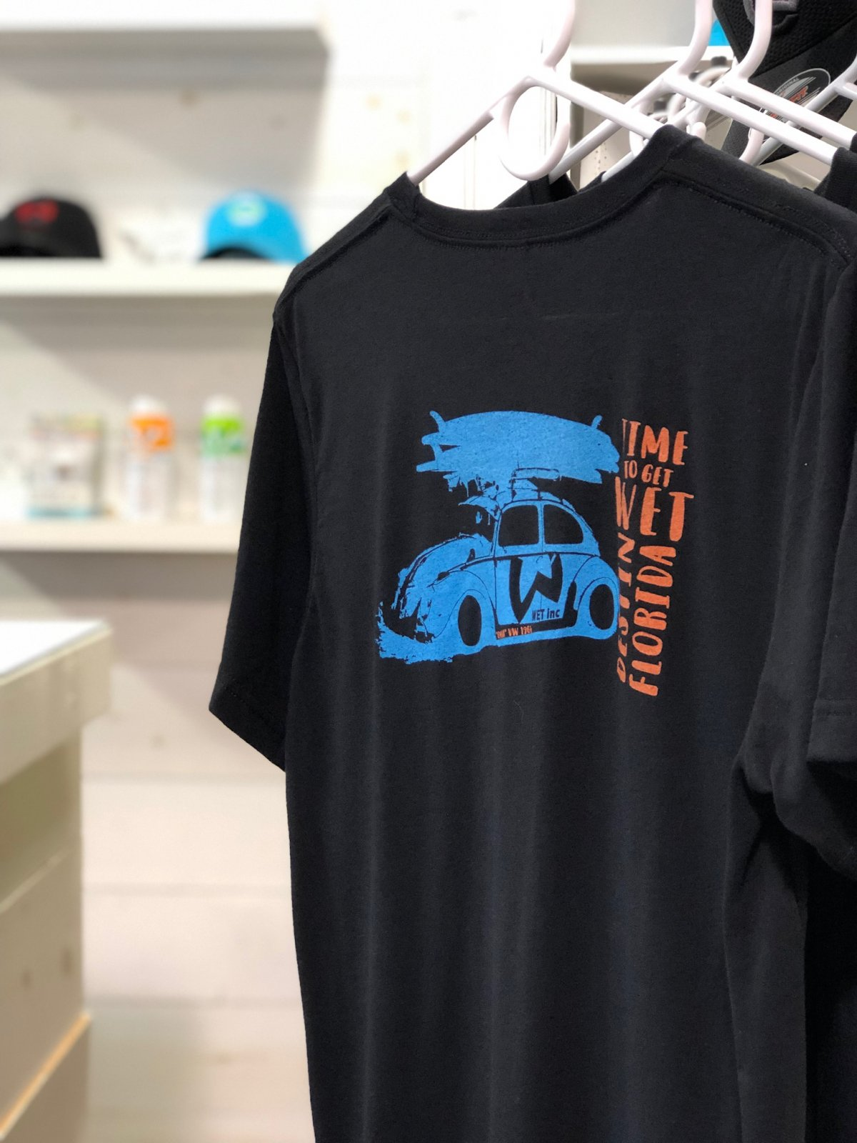 WET - Time To Get WET VW Beetle Tee