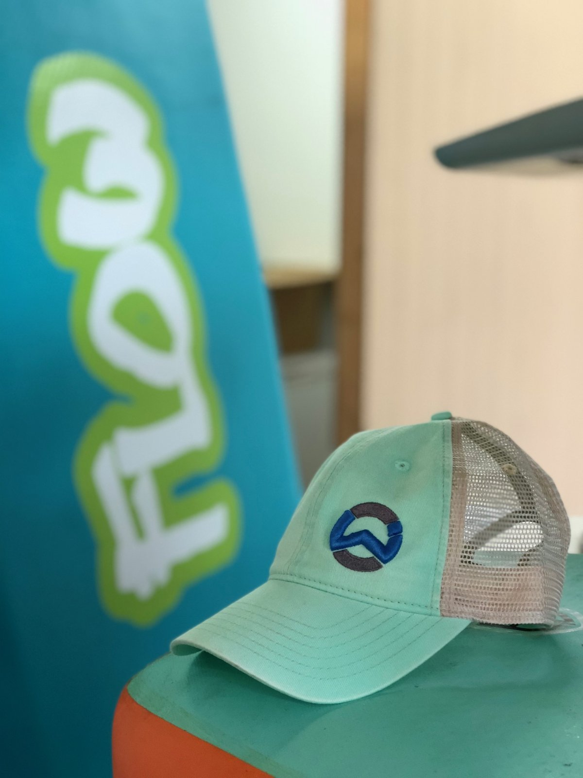 Wet. In Trucker Hat
