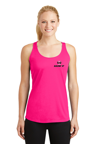 Wet Inc Logo Sport-Tek Ladies PosiCharge Competitor Racerback Tank