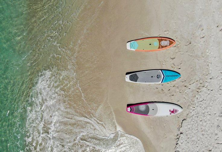 Paddle boards destin beach