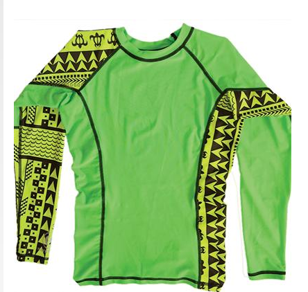 C4 WATERMAN RASHGUARD