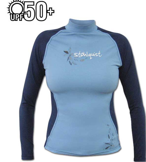 Stohlquist Women's Burnout Rashguard Long Sleeve