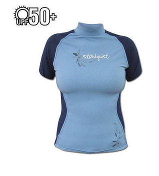 Stohlquist Women's Burnout Rashguard Short Sleeve