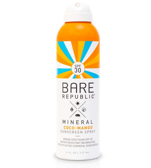Bare Republic Mineral SPF 50 Sunsreen Spray