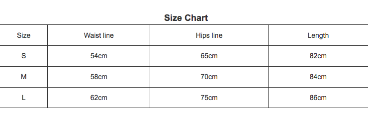 wet inc leggings size chart