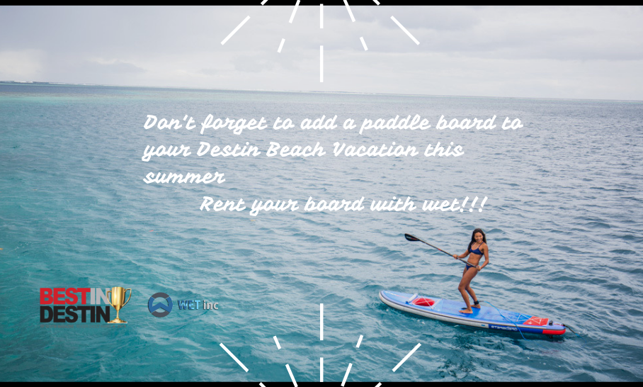 Best Paddle Board and Bicycle Rentals in Destin, FL