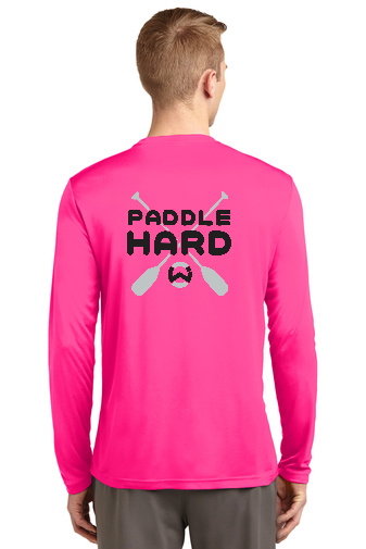 WET Inc Paddle Hard  Sport-Tek Long Sleeve PosiCharge Competitor Tee