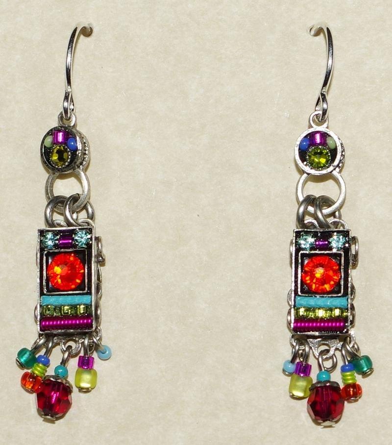 Firefly Multicolored Earrings 0591
