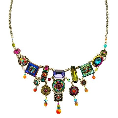 Firefly Multicolored Dangle Necklace 0587