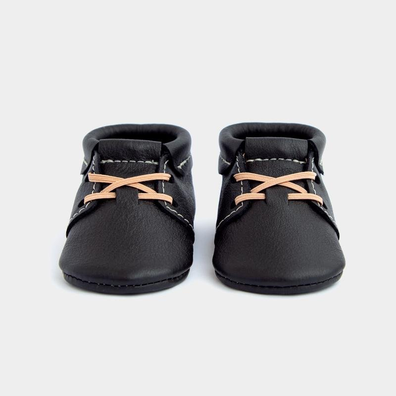 Freshly Picked Ebony Oxford Moccasins
