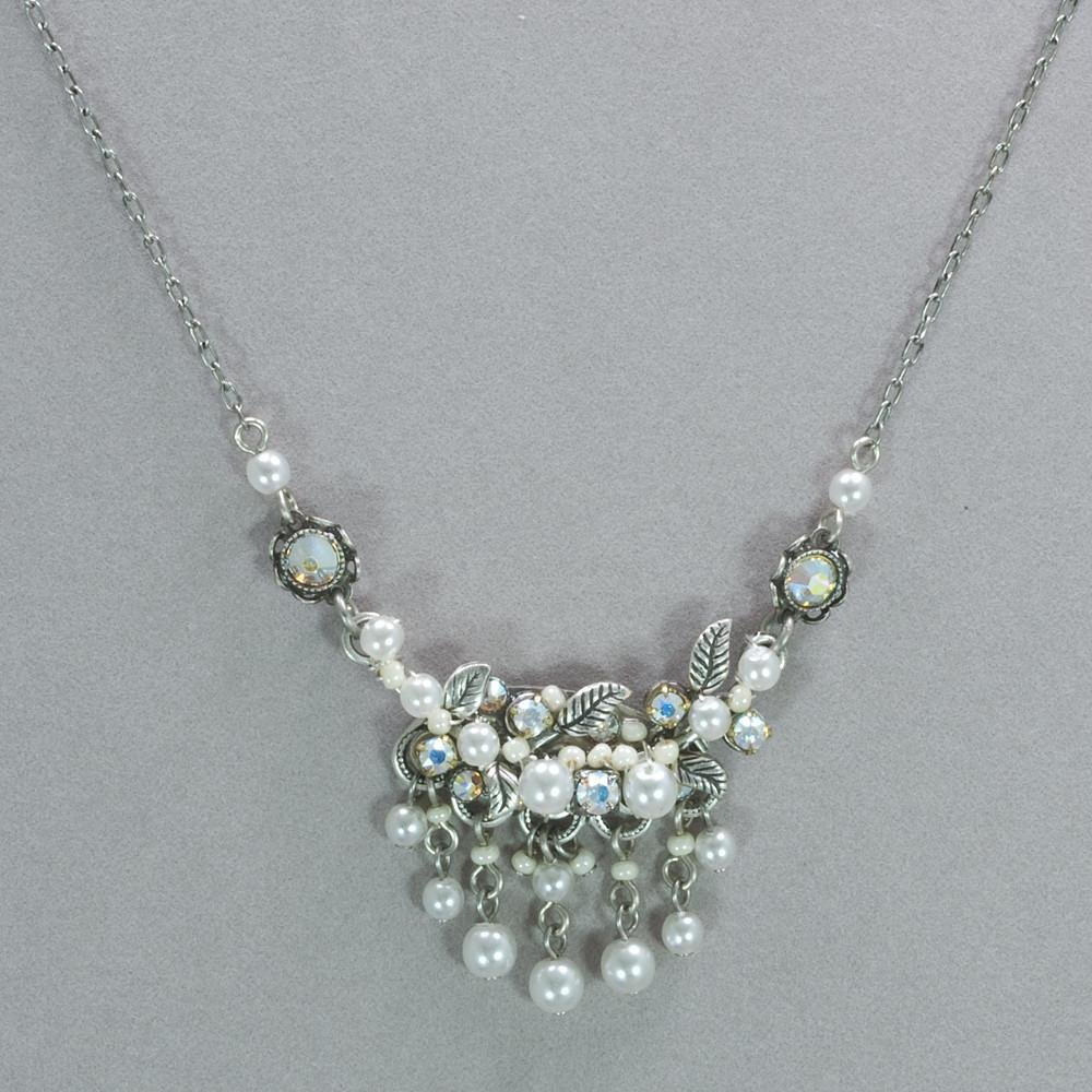 Firefly Pearl Dangle Necklace 0006