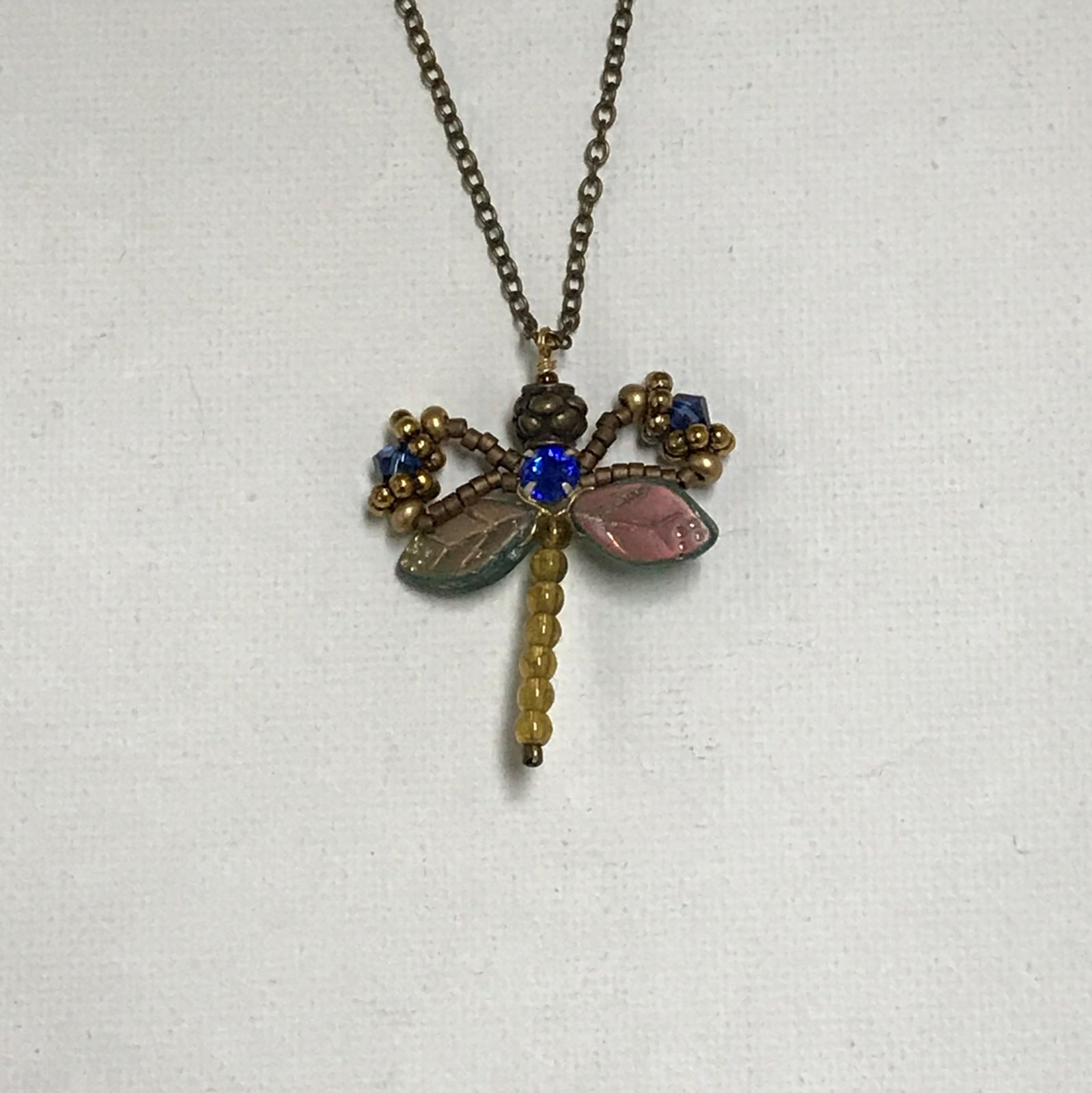 Robin Goodfellow Classic Dragonfly Necklace 0573