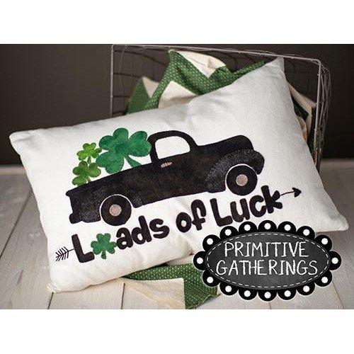 Loads of Luck Pillow Pattern & Kit