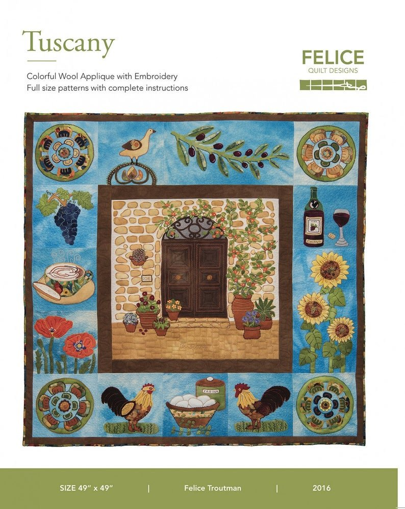 TUSCANY Pattern Book