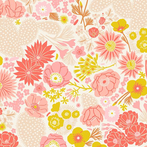 Blooming Flowers in Pink