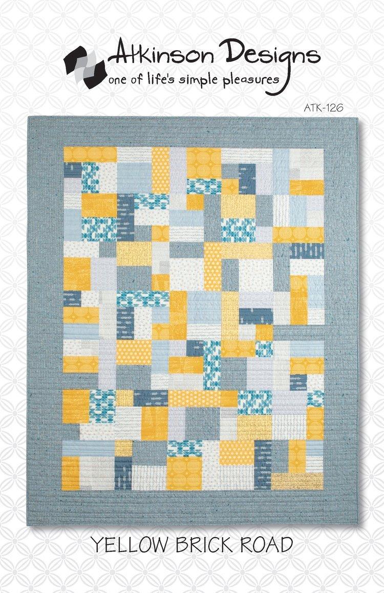 Yellow Brick Road Pattern - Atkinson Designs