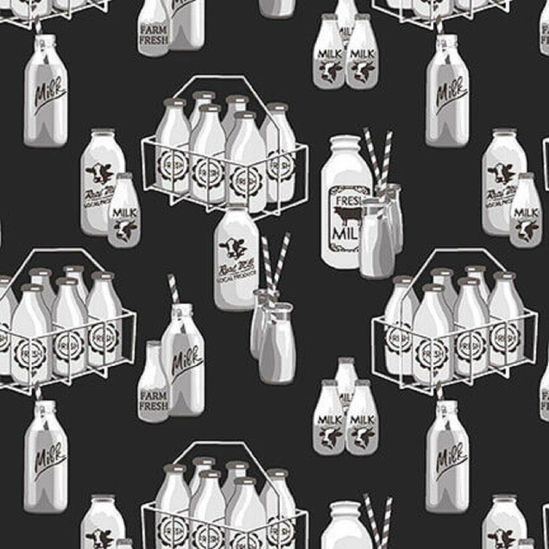 Buttermilk Farmstand Milk Bottles