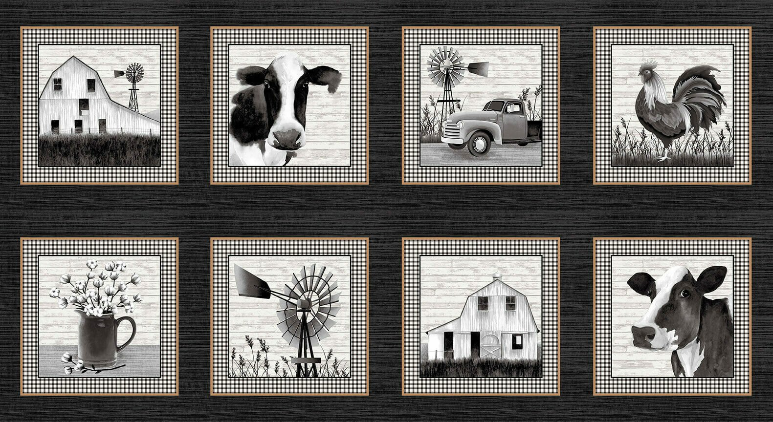 Buttermilk Farmstand Panel 9 Blocks