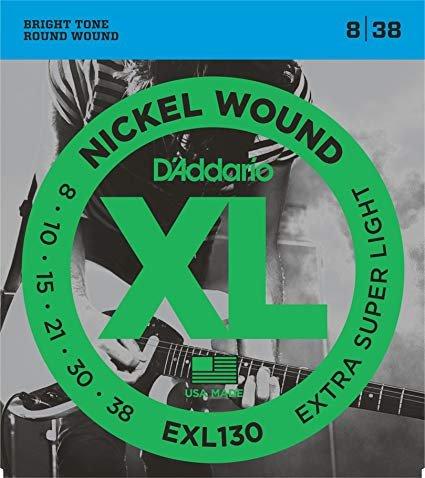 D'Addario Nickel Electric Guitar Strings