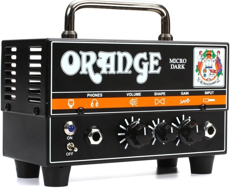 Orange Crush Micro Dark 20W Guitar Amplifier Head