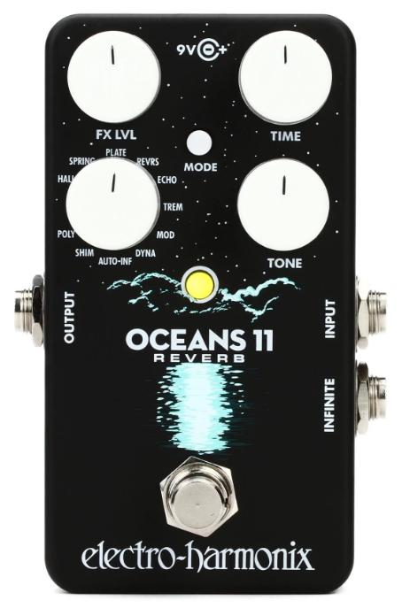 Electro-Harmonix Oceans 11 Reverb Pedal