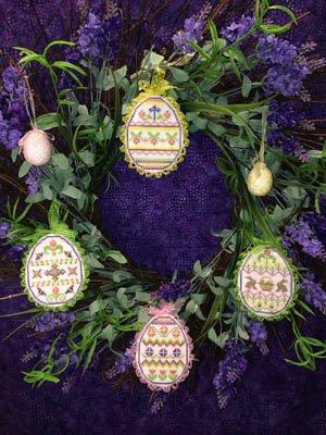 ScissorTail Designs - Spring Bling Easter Eggs #1