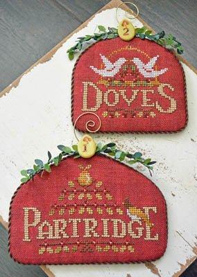 Hands On Design - 12 Days Partridge & Doves