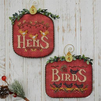 Hands On Design - 12 Days - Hens & Birds